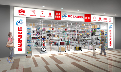 Air BIC CAMERA 成田空港第2ターミナル店 NEW OPEN!